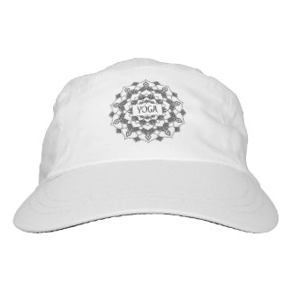 Yoga-Mandala gesponnener Leistungs-Hut Headsweats Kappe