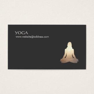 Yoga-Meditations-Lage-Visitenkarte Visitenkarten