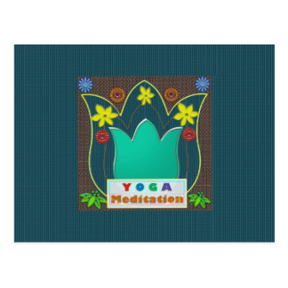 YOGA Meditations-Skript KUNST Mandala-Schaukasten Postkarten