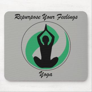 Yoga Mousepad Gefühle