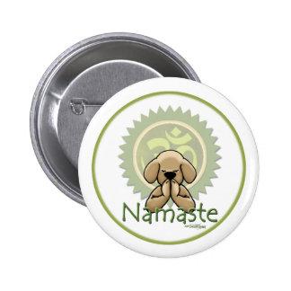 Yoga - Namaste Anstecknadel