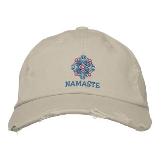 Yoga-Namaste gestickte Kappe Bestickte Kappen