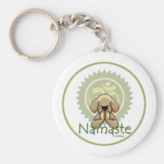 Yoga - Namaste Schlüsselanhänger
