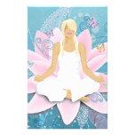 Yoga Personalisierte Druckpapiere
