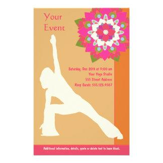 Yoga-Pose-Flyer 14 X 21,6 Cm Flyer