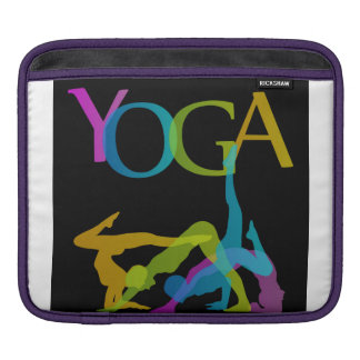 Yoga-Posen iPad Sleeve