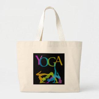 Yoga-Posen Jumbo Stoffbeutel