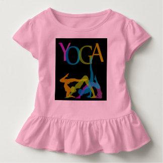 Yoga-Posen Kleinkind T-shirt