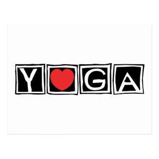 Yoga Postkarten