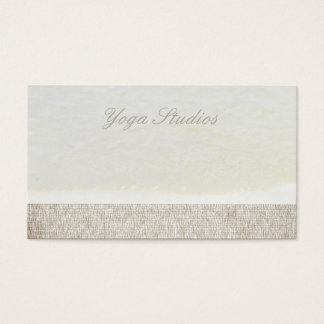 Yoga Reiki geistiges heilendes Visitenkarte