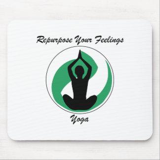 Yoga RepurposeFeelings Mousepad