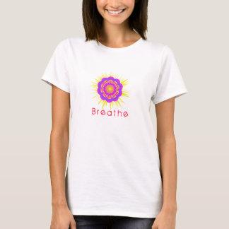 Yoga-Shirt, atmen, Symbol, Namaste T-Shirt