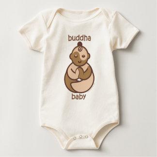 Yoga spricht Baby: Fleisch-Buddha-Baby Baby Strampler