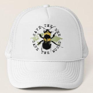 Yoga spricht: Retten Sie die Bienen-… Truckerkappe