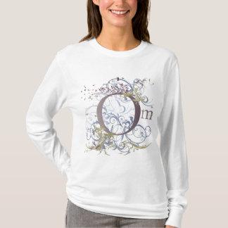 Yoga spricht: Wirbelndes OM entwerfen T-Shirt