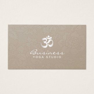 Yoga-u. Meditations-stilvolles Sahnemit Visitenkarte