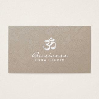 Yoga-u. Meditations-stilvolles Sahnemit Visitenkarten