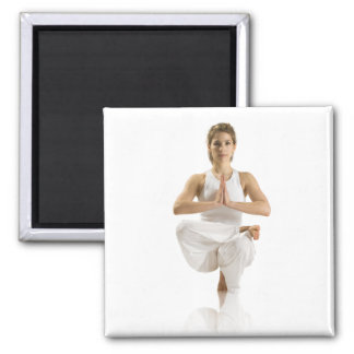 Yoga-Übung Quadratischer Magnet