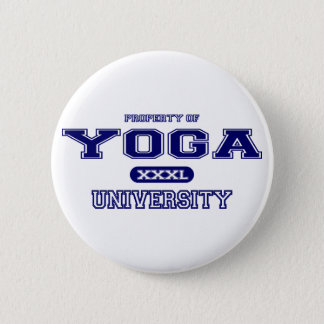 Yoga-Universität Runder Button 5,1 Cm