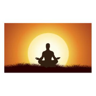Yoga-Visitenkarte