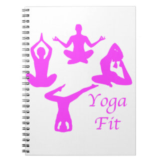 Yoga YogaFit Spiral Notizblock