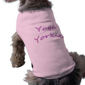 Yoga Yorkie Hundeshirt T-Shirt