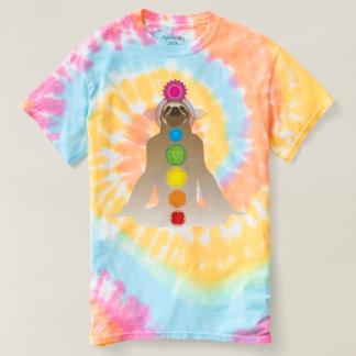 YogaSloth, gefärbte Krawatte T-shirt