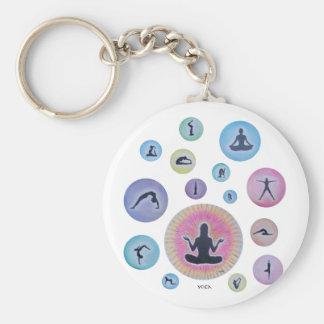 Yogaträumen Schlüsselbänder
