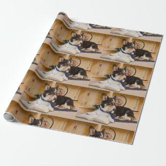 Yogi der Wissenschafts-Hund Geschenkpapier