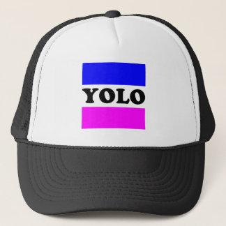 YOLO-Hut Truckerkappe