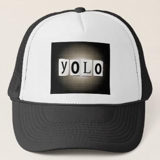 YOLO-Konzept Truckerkappe