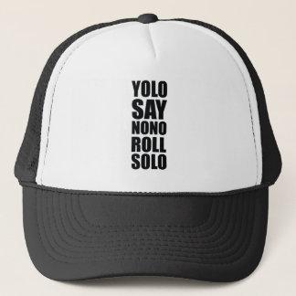 YOLO-Rollensolo Truckerkappe