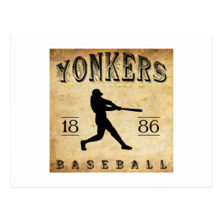Yonkers New York Baseball 1886 Postkarte