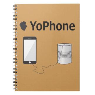 YoPhone Spiral Notizblock