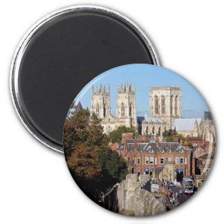York-Münster Runder Magnet 5,7 Cm