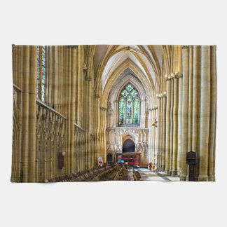 York-Münster von innen. Handtuch