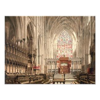 York-Münster, York, Yorkshire, England Photodruck