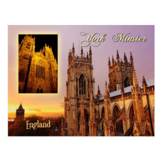 York-Münsterkathedrale, York, England Postkarten