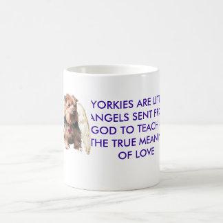 Yorkie Engel Kaffeetasse