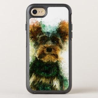 Yorkie/Haustier-Porträt Yorkshires Terrier OtterBox Symmetry iPhone 8/7 Hülle