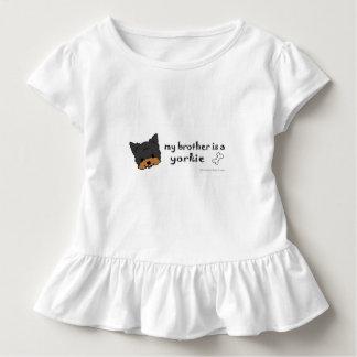 yorkie kleinkind t-shirt
