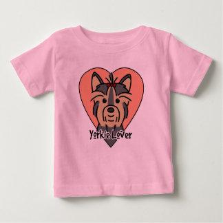 Yorkie Liebhaber Baby T-shirt