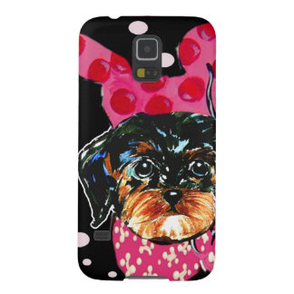 YORKIE POO GALAXY S5 COVER