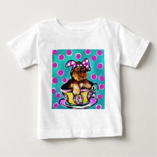 Yorkie Poo Ostern Baby T-shirt