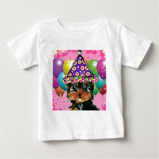 Yorkie Poo Party-Hund Baby T-shirt