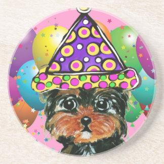 Yorkie Poo Party-Hund Untersetzer
