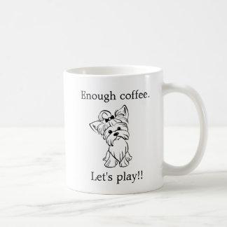 Yorkie - Yorkshire Terrier - Kaffee-Spiel Kaffeetasse