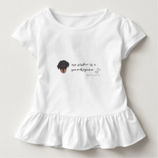 yorkipoo kleinkind t-shirt
