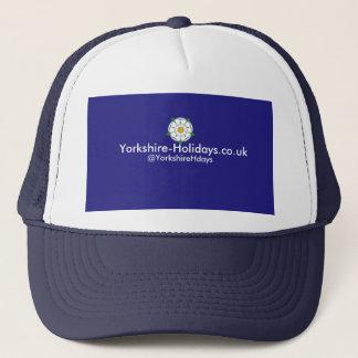 Yorkshire-Feiertage Fernlastfahrer-Kappe Truckerkappe