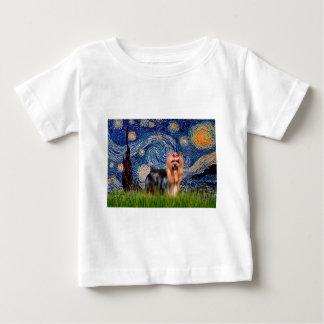 Yorkshire Terrier 9 - sternenklares Nightpng Baby T-shirt